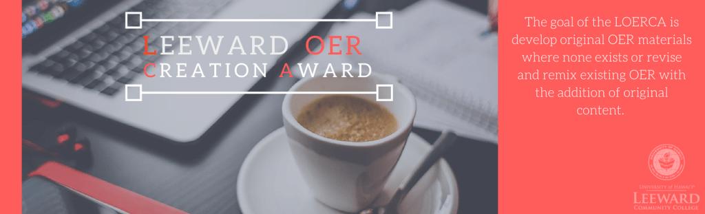 Leeward OER Creation Award