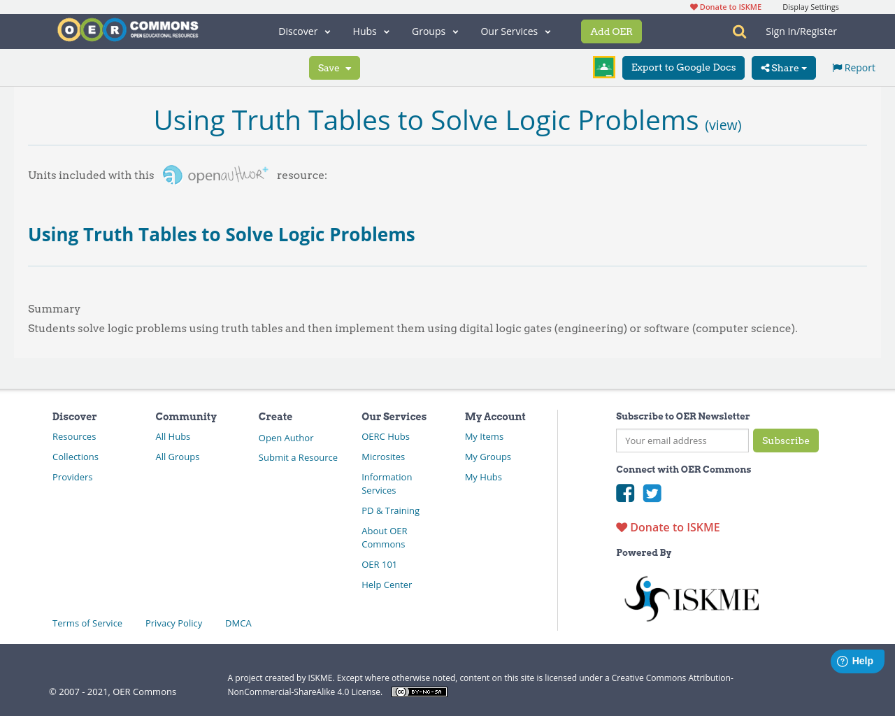 Using Truth Tables To Solve Logic Problems