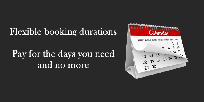 booking periods