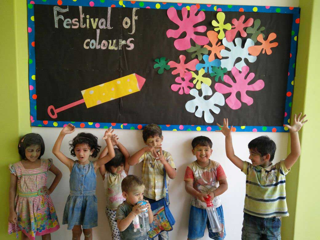 Holi Celebration At Oes International School