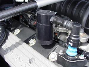 JLT Oil Separator (2007-13 SHELBY GT500, passenger side)