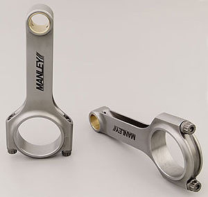 Manley Forged Steel H-Beam Connecting Rods (Set 8)