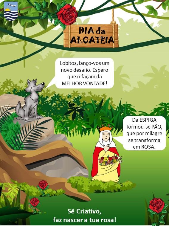 Cartaz Dia da Alcateia