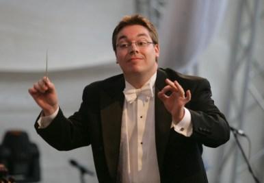Dirigent Enrico Delamboye