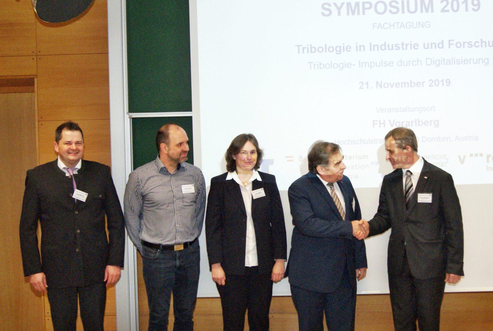 Handover of office: Prof. Pauschitz succeeds Prof. Franek