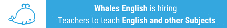 Teach English with Whales English