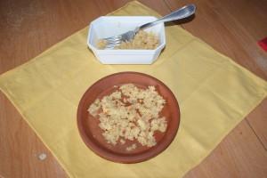 dose de pâtée pour 5 poussin