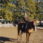 jeune fille à cheval