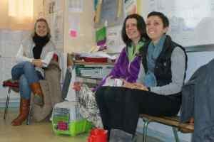 l'équipe pédagogique du projet un poulailler à l'école