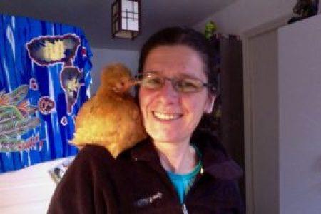Mascot : Vive les petits poulets comme animaux de compagnie !!!