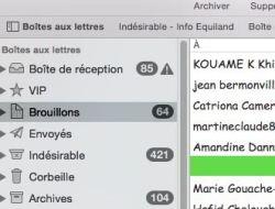 nombre d'emails reçus