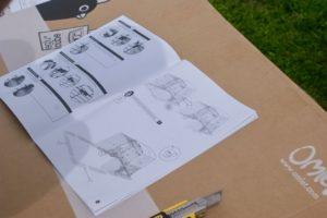 manuel d'instruction pour le montage du Grand Eglu Cube