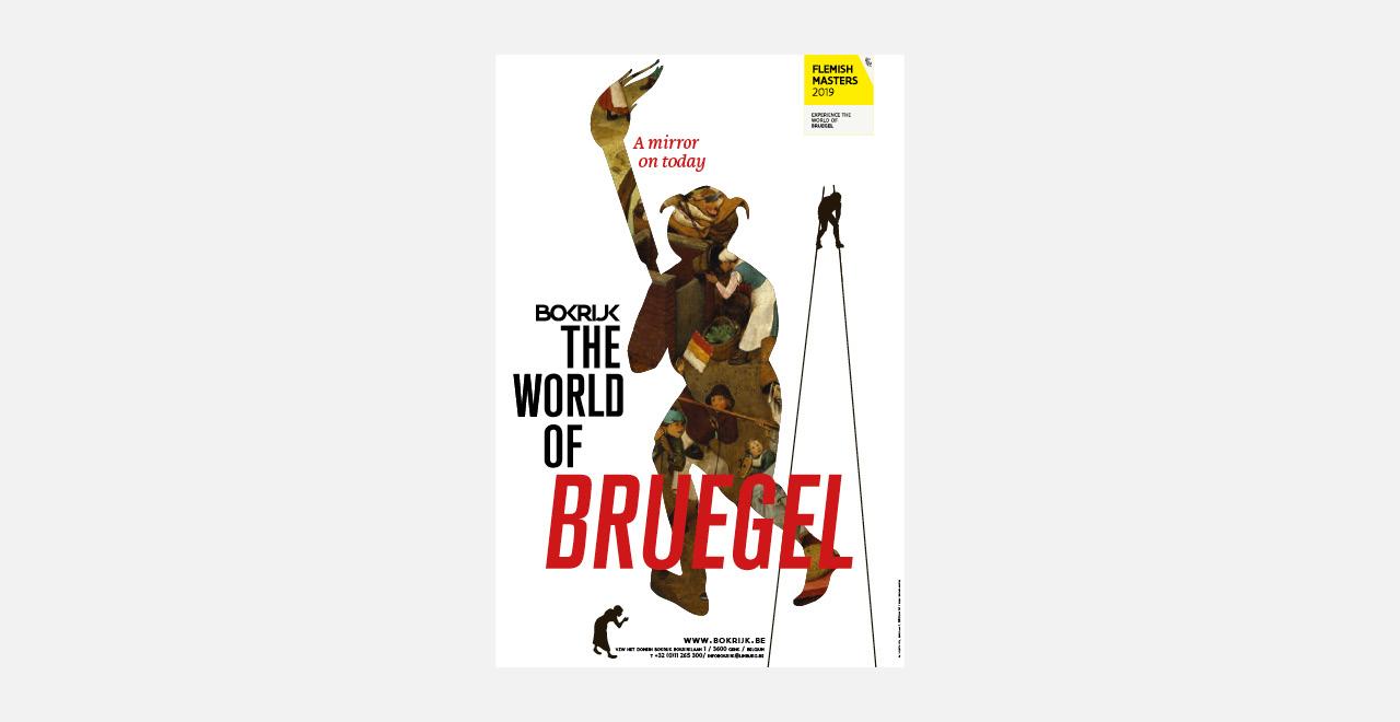 Campaign for 'De Wereld van Bruegel', Bokrijk.