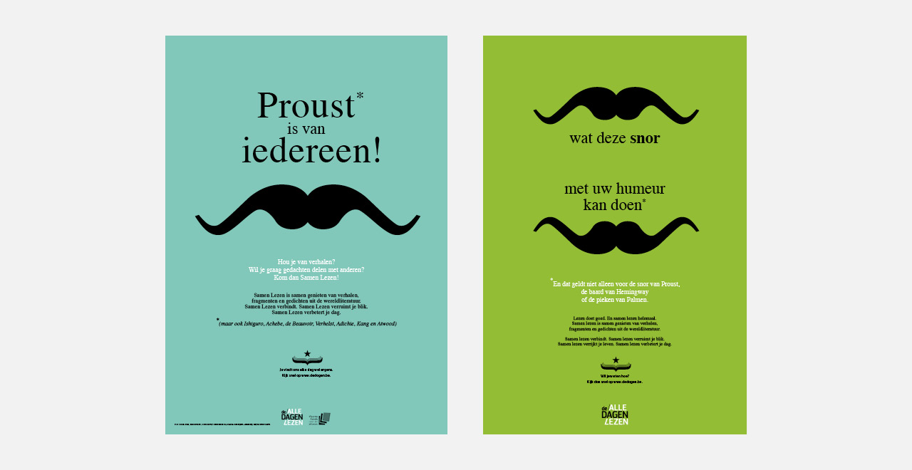 Brand identity, illustrations and campaign for De Dagen