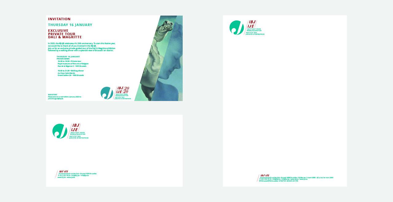 Total branding for IBJ