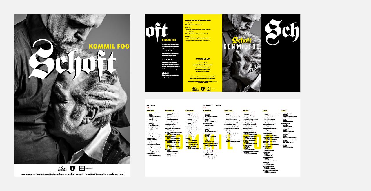 Campaign design Schoft Kommilfoo