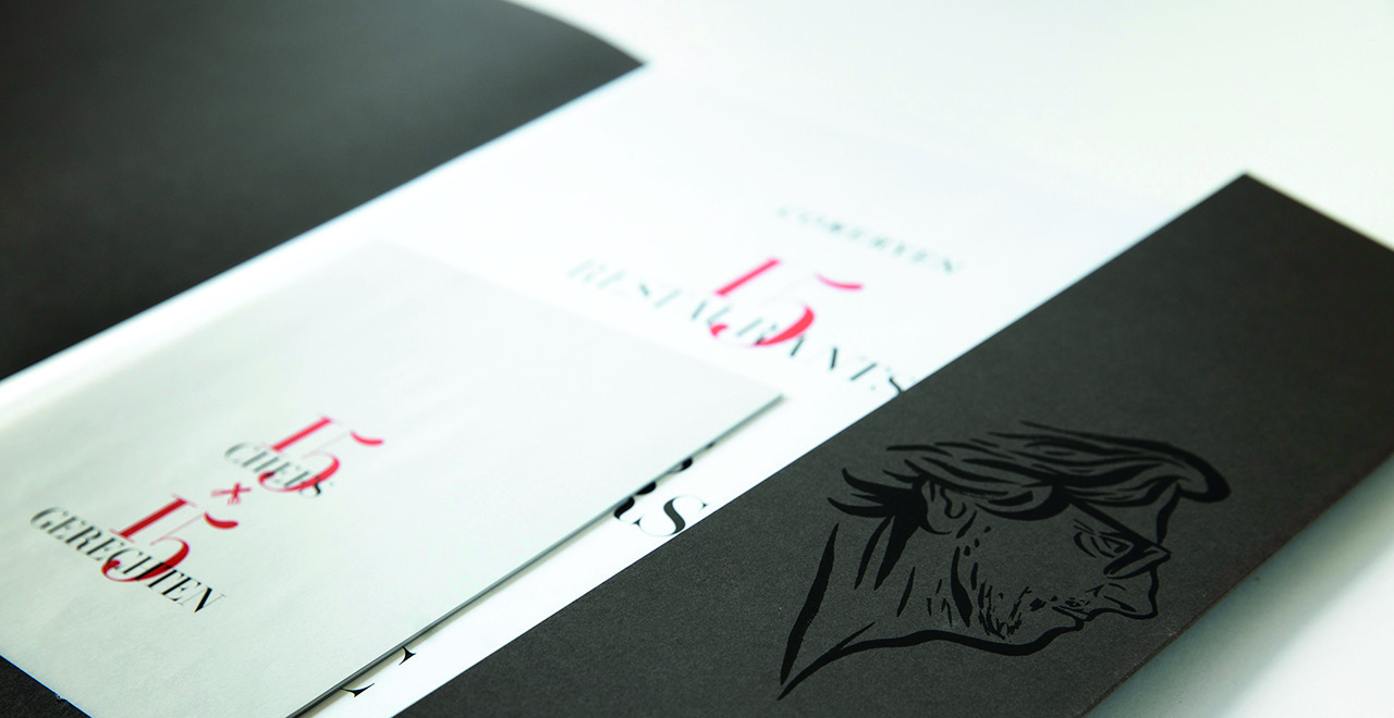 Catalogue design for the dual exhibition featuring Frans Snijders and Tony Leduc