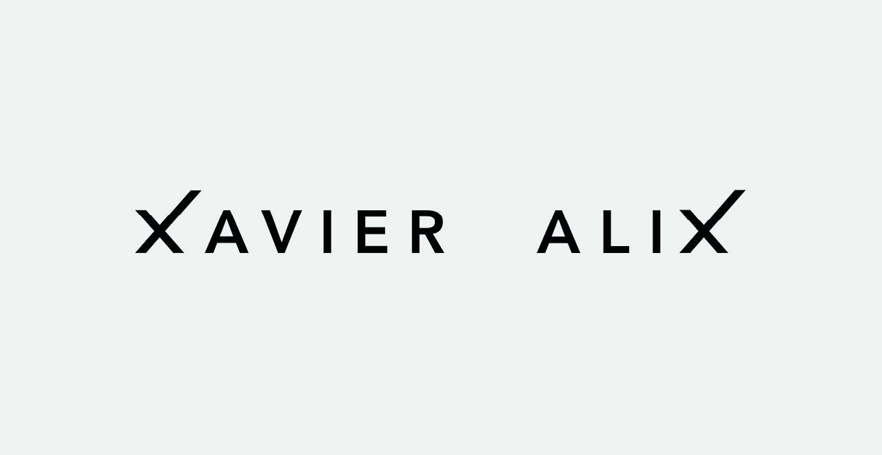 Brand identity 'Xavier, finest coffee'