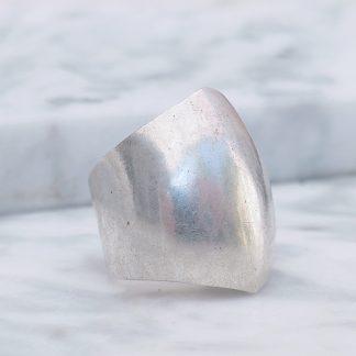Ring zilver verstelbaar