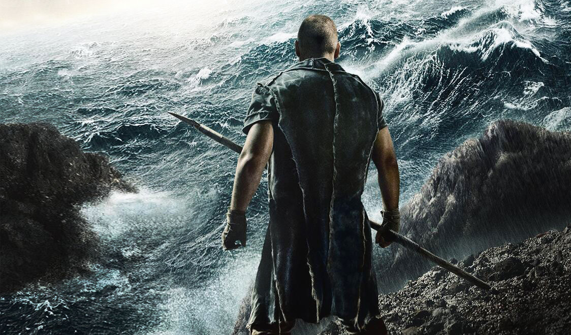 Noah will have you in floods (of something)