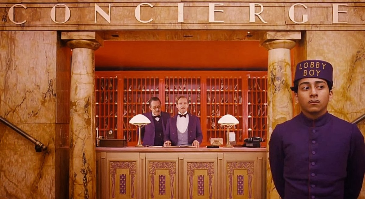 The Grand Budapest Hotel is a confectionary treat