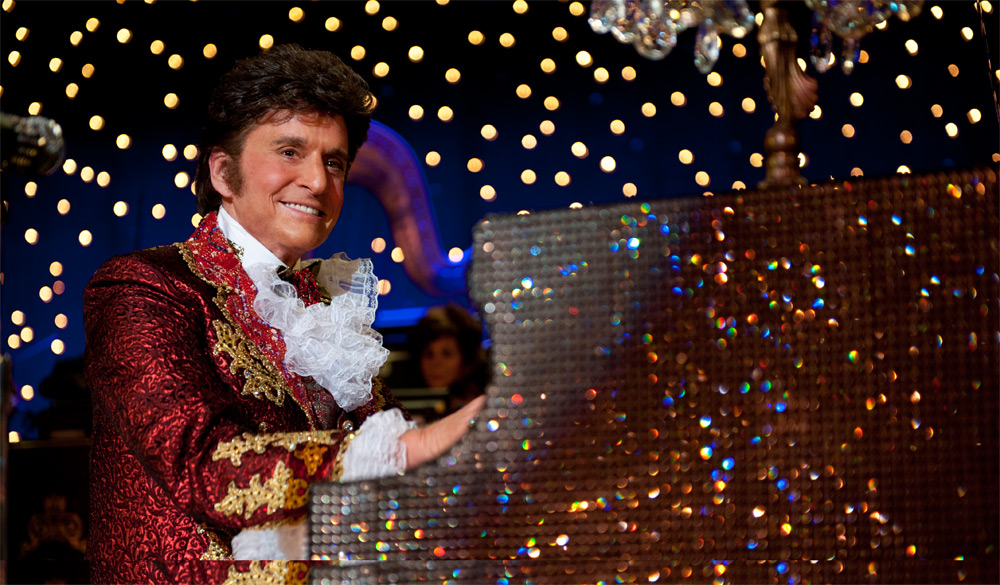 Behind the Candelabra seeks the flesh behind the fabric and gold leaf