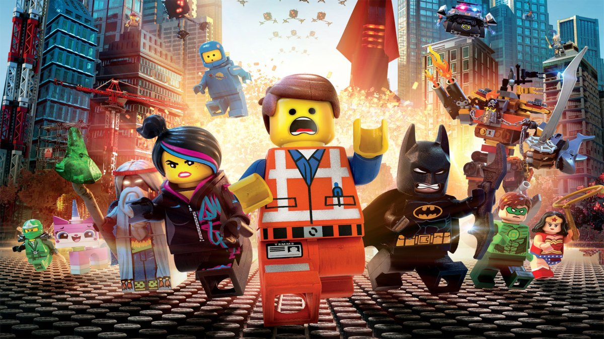 Everything is awesome with The Lego Movie
