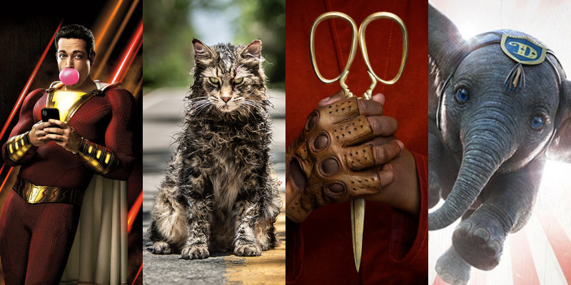 PODCAST: Shazam!, Pet Sematary, Us, & Dumbo [Electric Shadows]