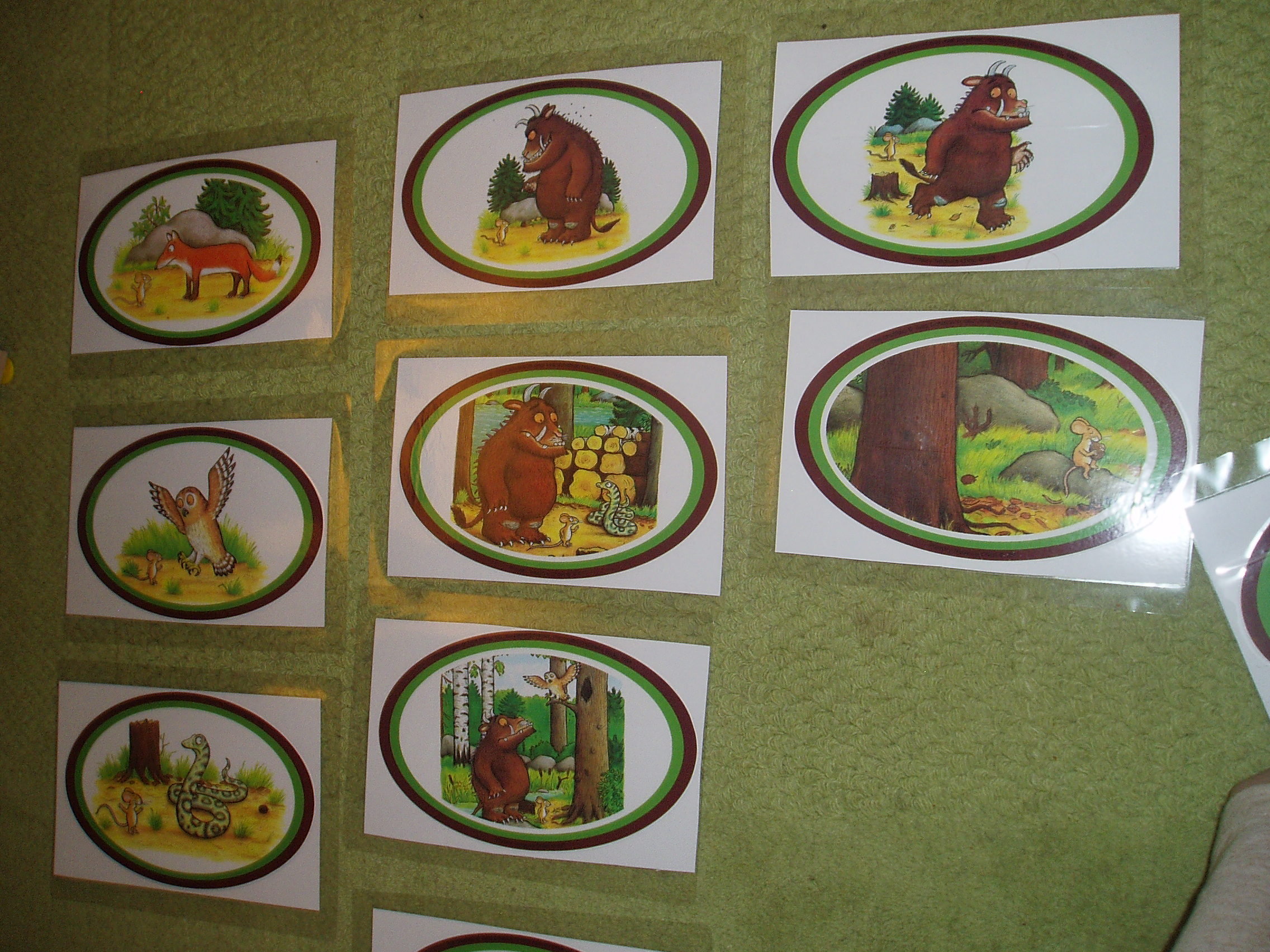 Story Sequencing The Gruffalo Free Printable Sequencing Cards