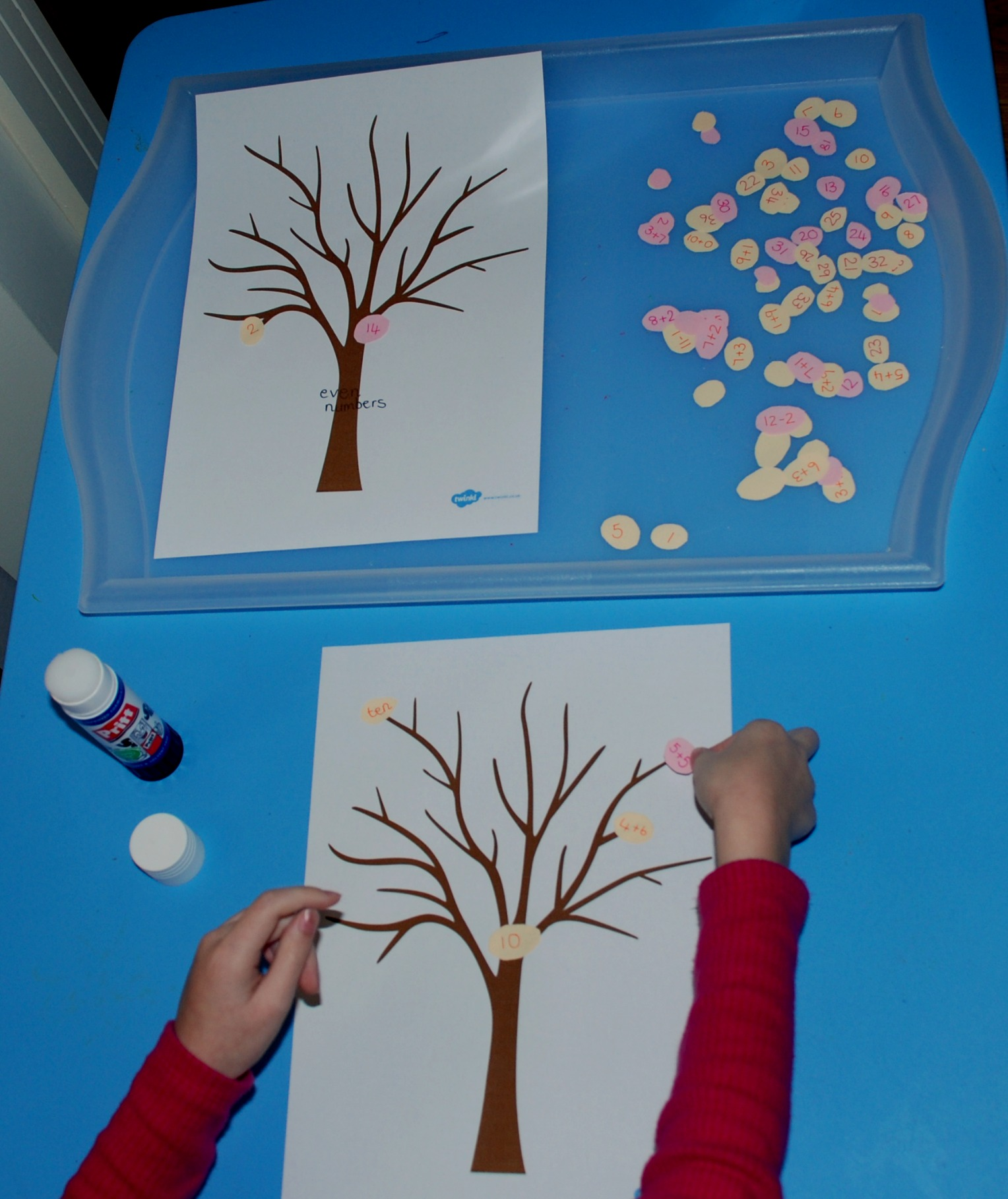 Spring Tree Craft And Maths