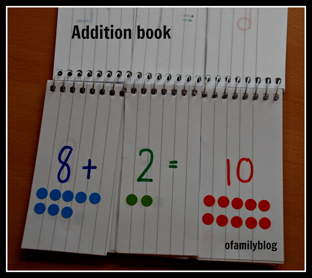 Addition And Multiplication Home Made Flip Books