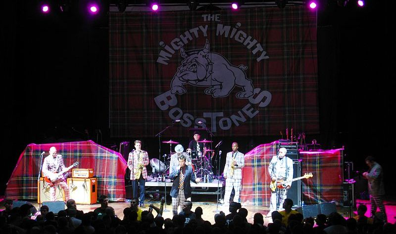 The Mighty Mighty Bosstones in Concert - by thisisbossi - Flickr - CC Attribution Share Alike 2