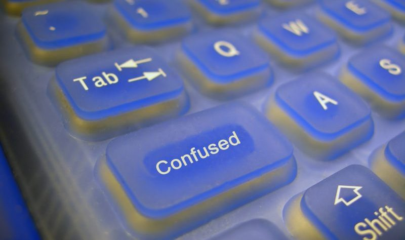 Confused Keyboard by ladyheart at Morguefile