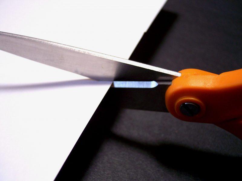 Scissors Cutting by cohdra at Morguefile.com