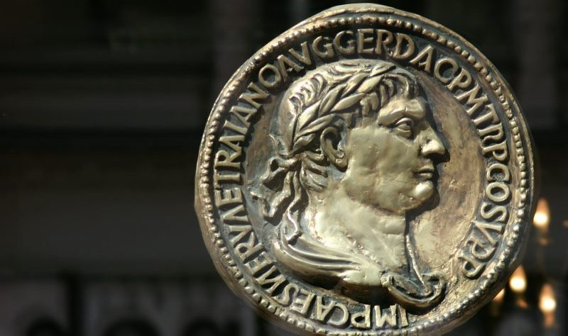 Imperial Roman coin by clarita at Morguefile.com