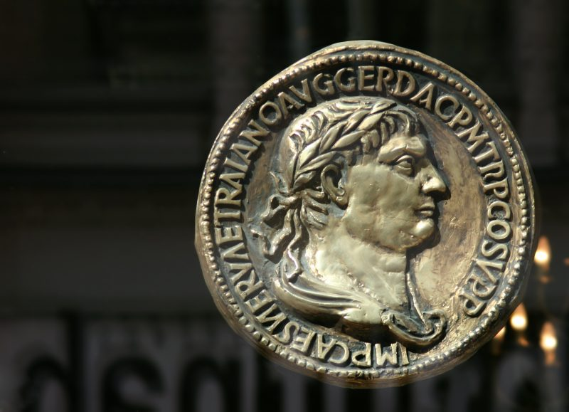 Imperial Roman coin by clarita at Morguefile.com