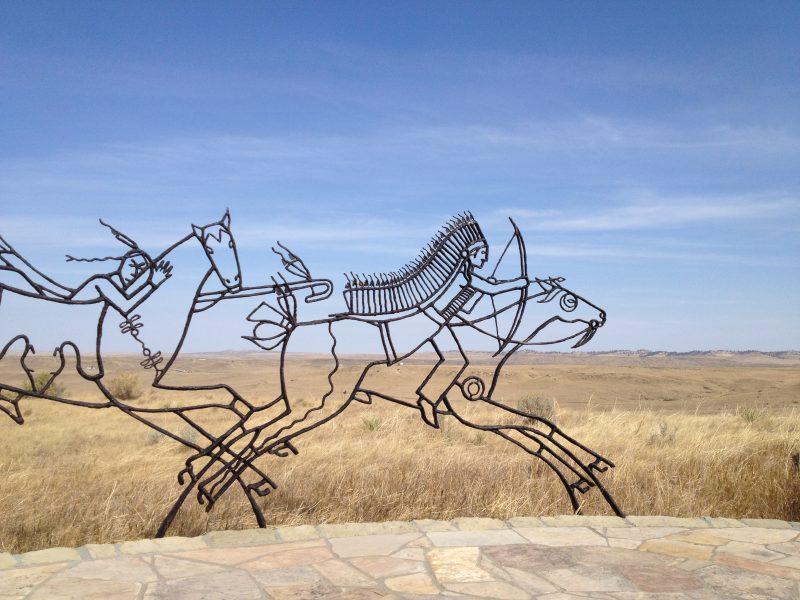 Indian Memorial, Little Bighorn Battlefield National Monument
