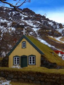 sod-covered-roof-church-hof-iceland