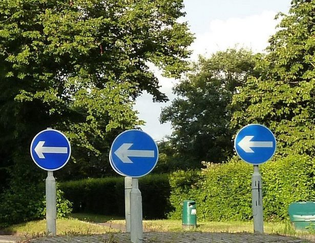 Which Direction from Morguefile