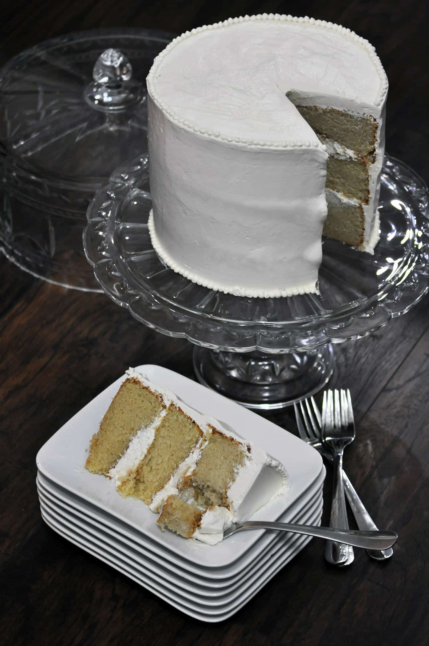kitchen aid professional mixer cabinet veneer best vanilla cake recipe {ever} • cakes | ofbatter&dough