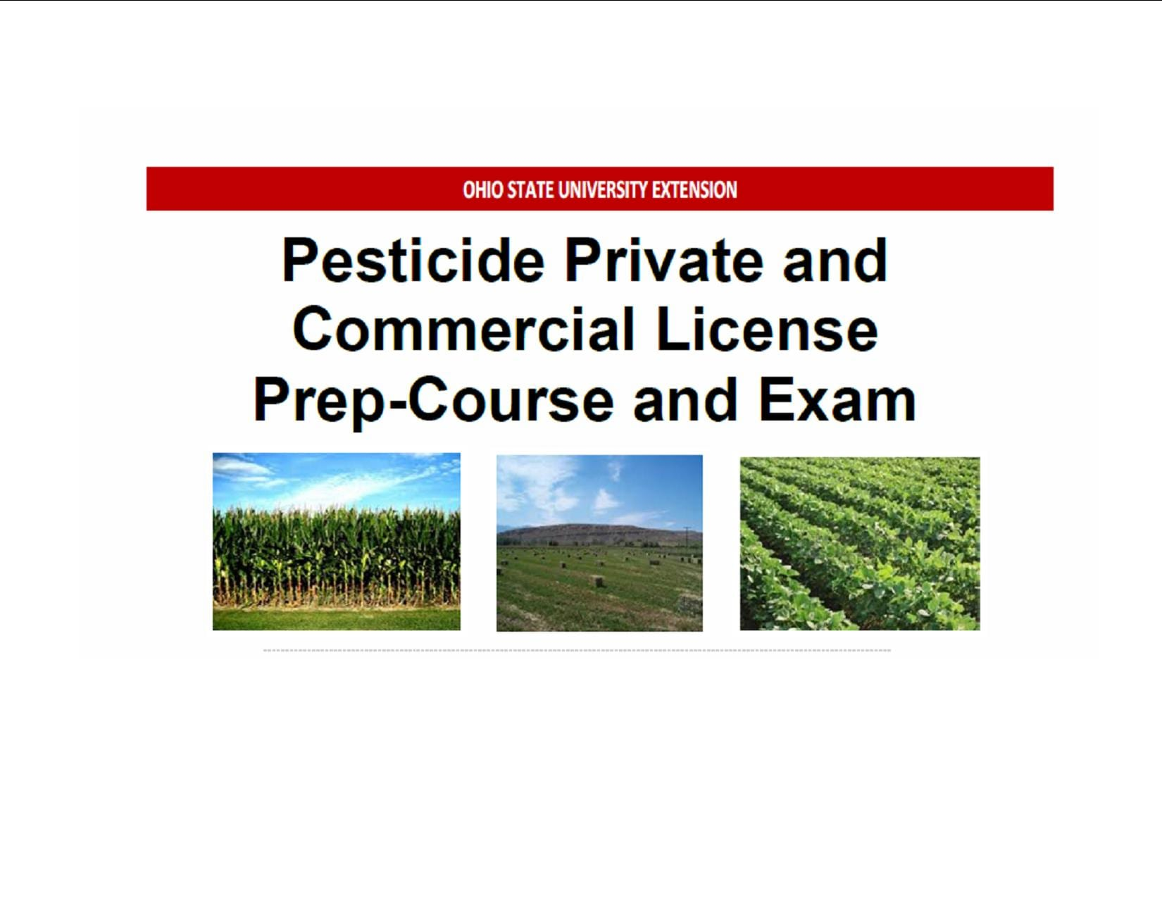 Pest Control Exam Prep