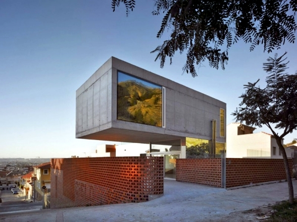 Contemporary Concrete House In Murcia, Spain Xpiral Of