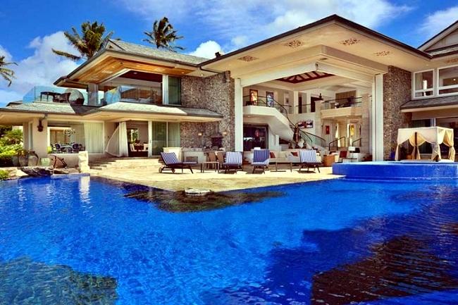 Luxury Holiday Villa In Hawaii  The Fascinating Jewel Of