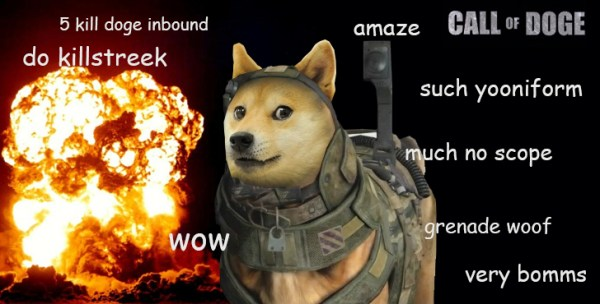 call of doge ghosts Doge