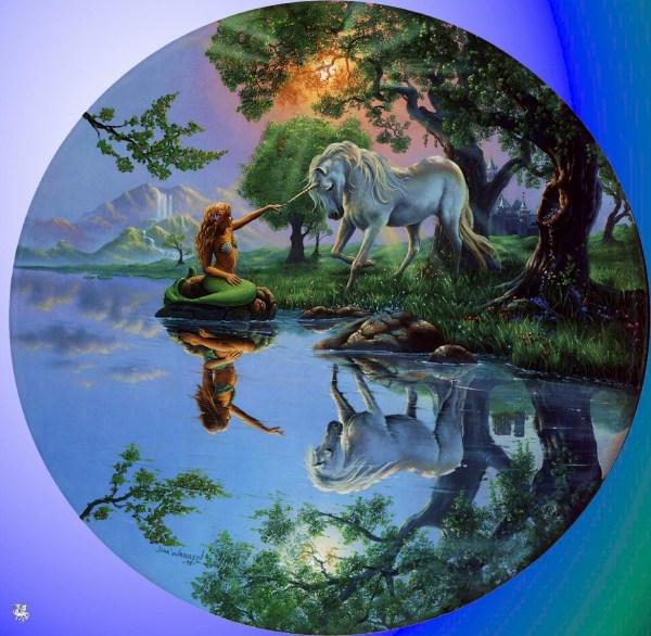 Jim Warren Mermaid & Unicorn