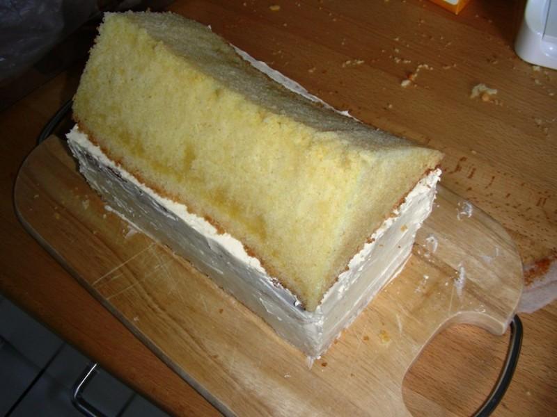 Ein schwedisches Huschen  oder eine Torte in 12 Stunden  Ofenkieker