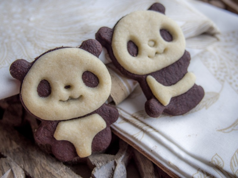 PandaPltzchen oder das etwas andere SchwarzWeiGebck
