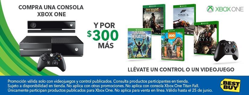 Best Buy Xbox One Consola 500GB Ms 300 Control O Videojuego