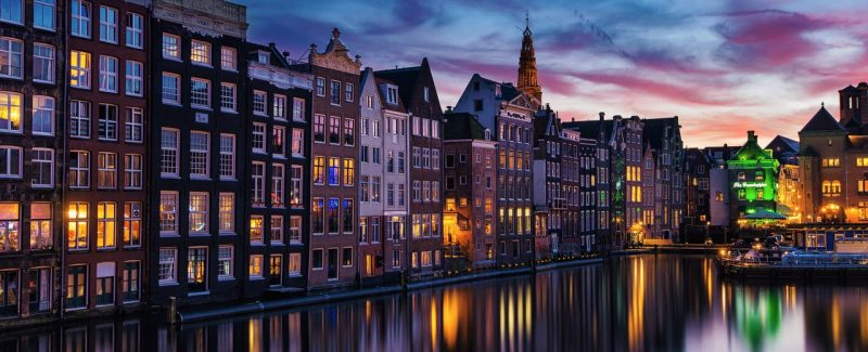 Zboruri Amsterdam, 66 EUR dus-intors