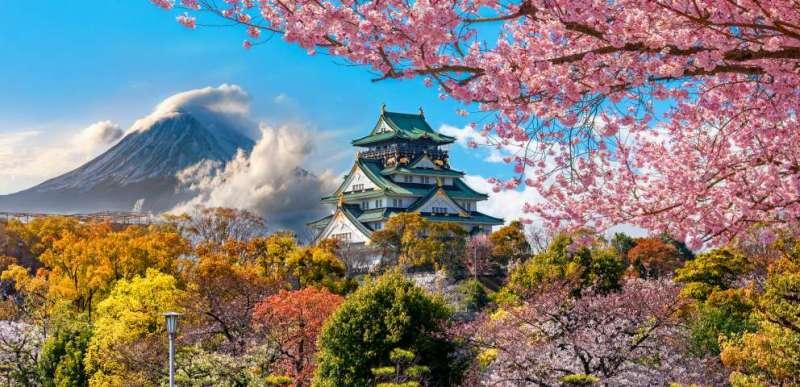 Zboruri catre Japonia, de la 511 EUR dus-intors in Aprilie, Mai, Iunie, Iulie 2021